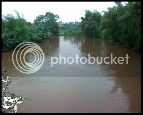 Sungai disekitar Tanah Kusir