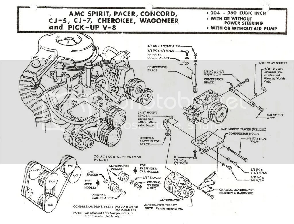 Alternator A C Brackets Differences