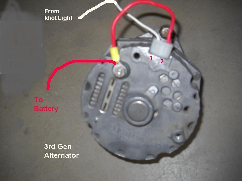three wire diagram alternator delco   35 wiring diagram