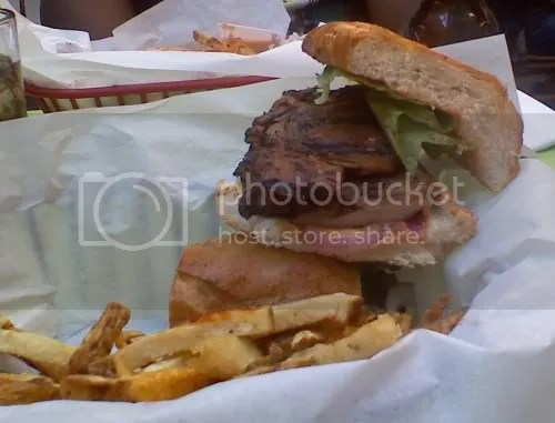 Jerk Chicken Sandwich