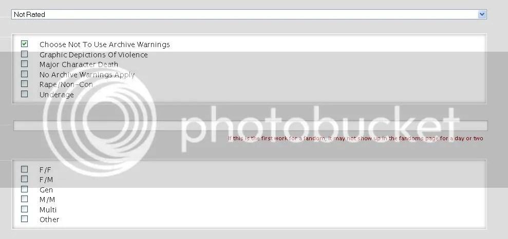 Archivwarnungen bei AooO