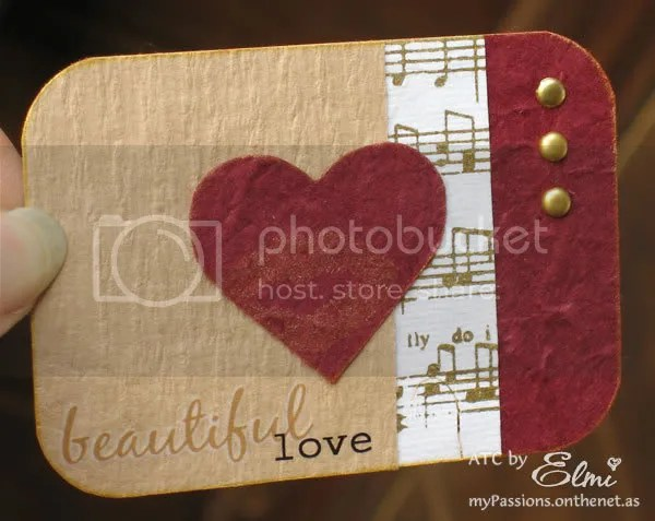 'Beautiful Love' ATC