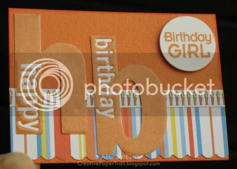 'Birthday Girl' ATC