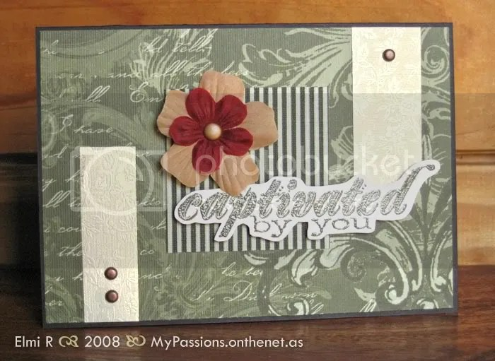 'Captivated by You' card for Verve challenge