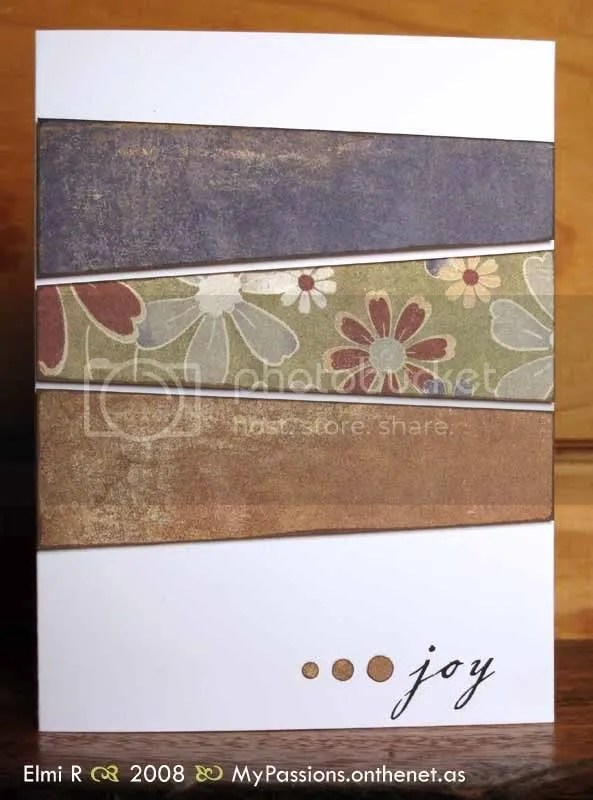 Autumn Joy card