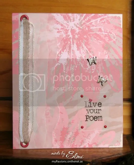 'Live Your Poem card