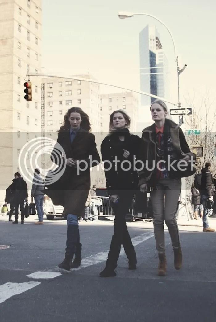 Alana Zimmer, Kasia Struss, Hanne Gaby Odiele