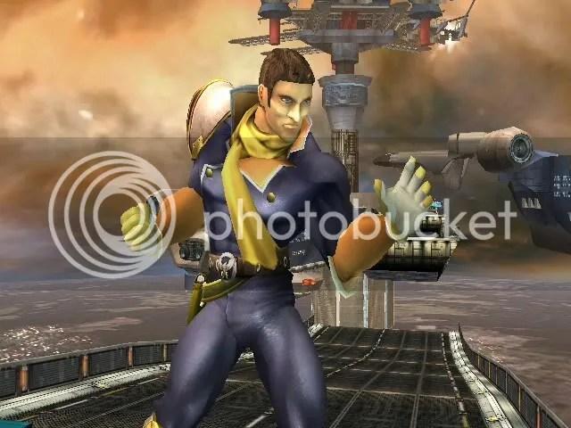 Helmetless Captain Falcon 1