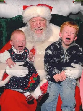 Scared of Santa 04 Pictures, Images and Photos