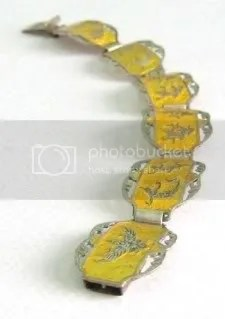 guide about vintage Siam silver niello jewelry