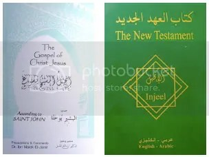 Iraq Bibles Arabic military