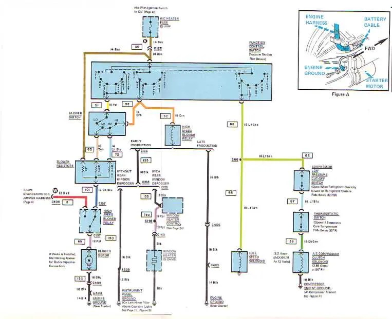 77 Corvette Wiring Diagram. Corvette. Wiring Diagram Images