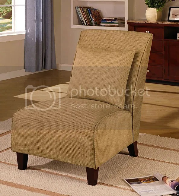 Gold Tapered Chair