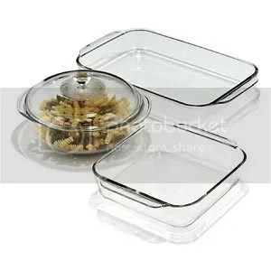 Pyrex Bakeware Set