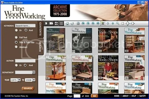Fine Woodworking Archive Collection DVD-ROM 1975-2008 1-201