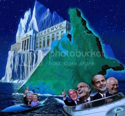 The Elites happily motor away while America sinks under the fraud of the Federal Reserve
