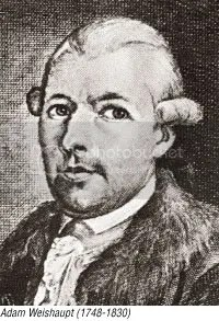 Adam Weishaupt - Founder of the Bavarian Illuminati