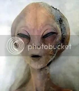 penampakan alien