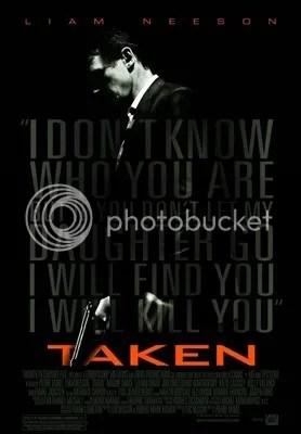 Liam Neeson Taken - Movie Poster