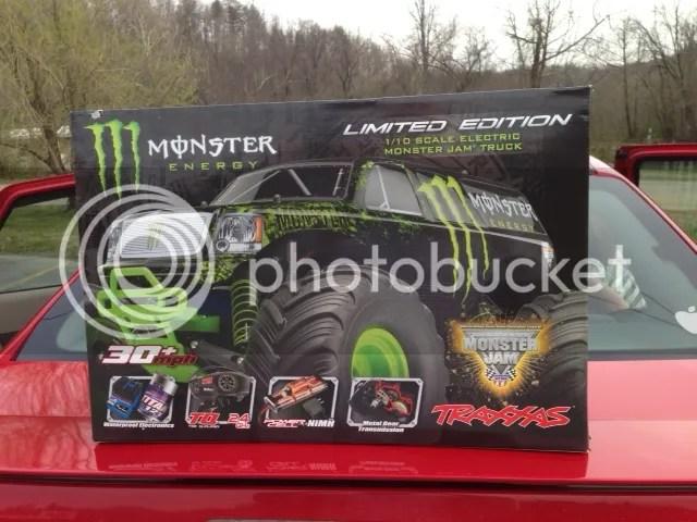 Truck Monster Slash Energy Traxxas