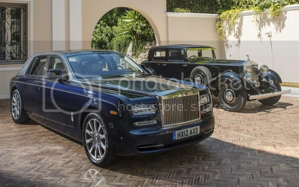 Rolls Royce Phantoms old and new