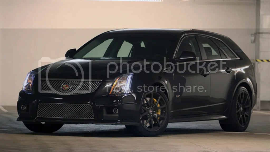 Cadillac CTS-V Wagon in Black