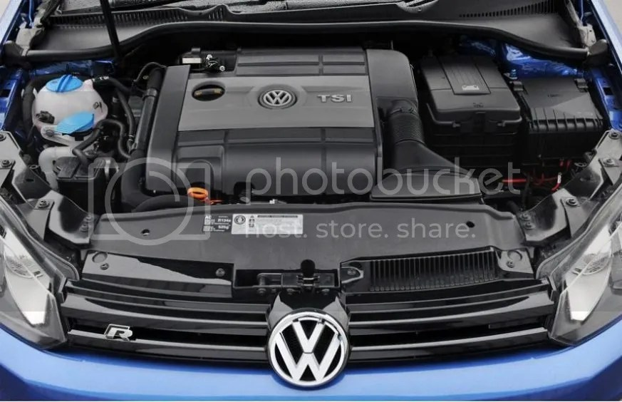Volkswagen Golf R 2.0T Engine