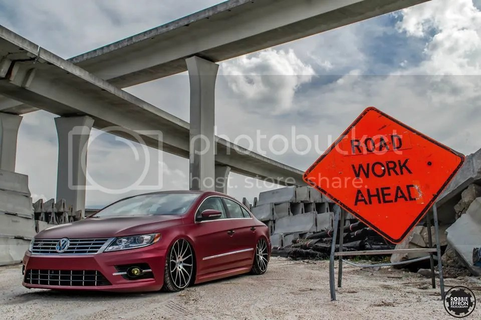 Slammed VW CC