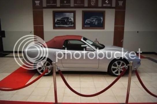 Used Maserati Side
