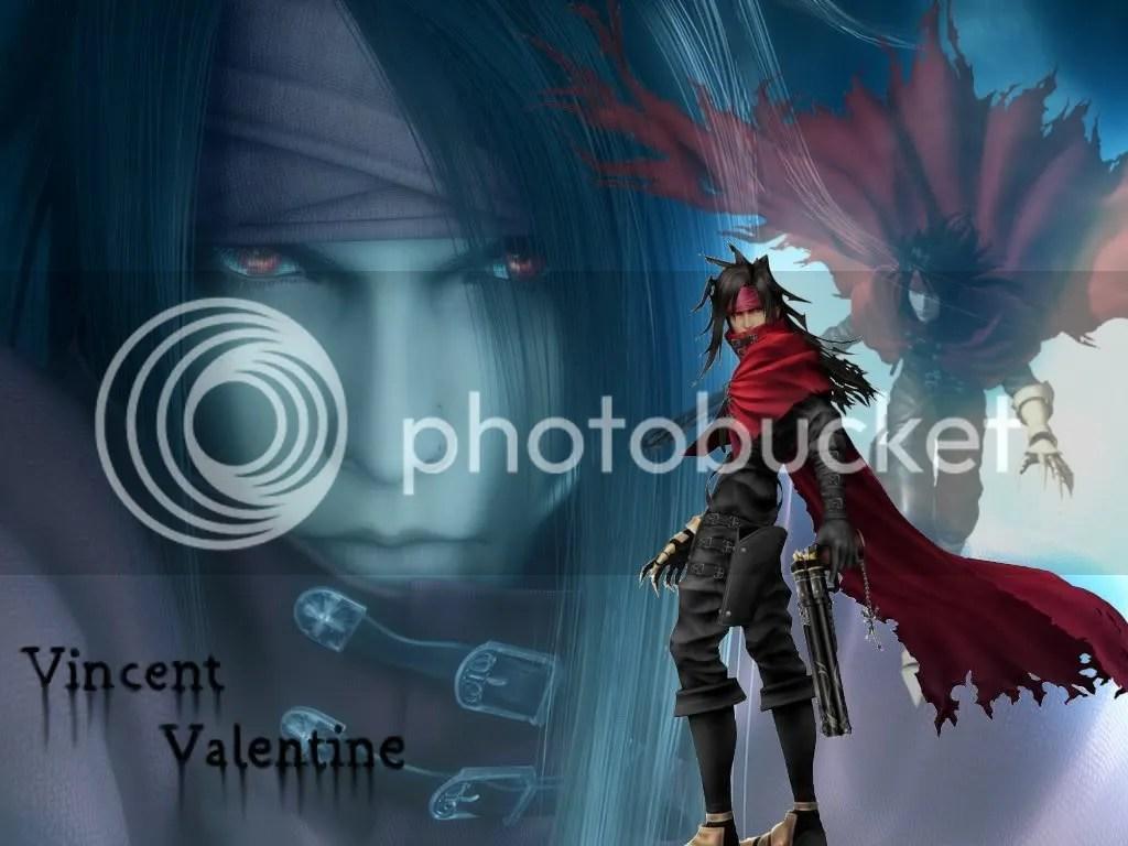 Final Fantasy Free Wallpaper Final Fantasy Vincent Valentine