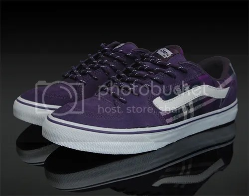 5264162db7 Vans just recently released their TNT Pro 4 model in a flannel  purple  color-way. To top it off