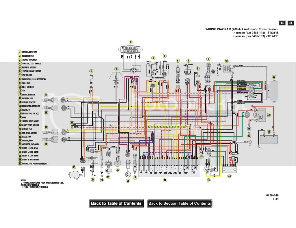 2006 Arctic Cat 500 4x4 Wiring Diagram Relay 2004 400 Automatic Free Download On