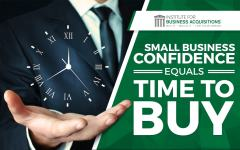 Small Business Confidence = Time To Buy