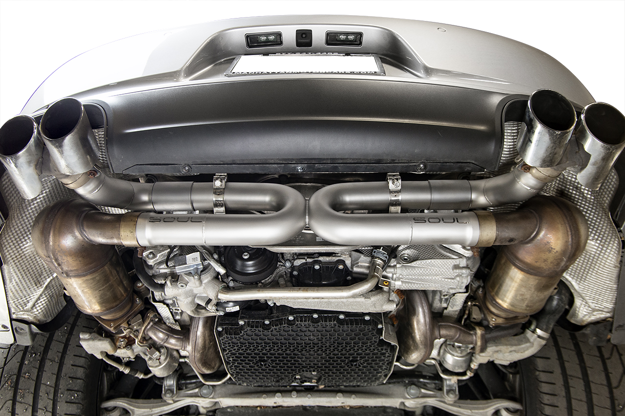 porsche 991 2 carrera base s without pse performance exhaust systems