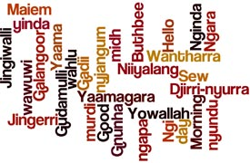 Say g'day in an Indigenous language