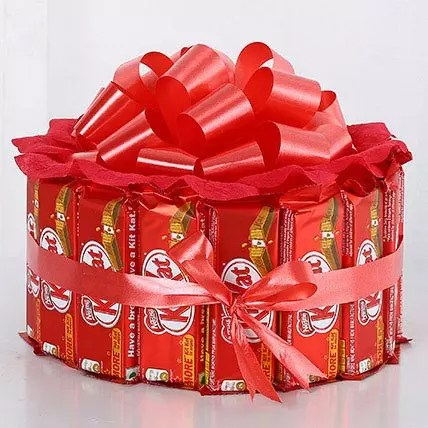 Sweet KitKat Bouquet Gift Kitkat Chocolate Bouquet