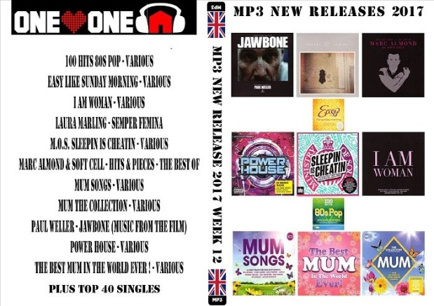 MP3 NEW RELEASES 2017 WEEK 12