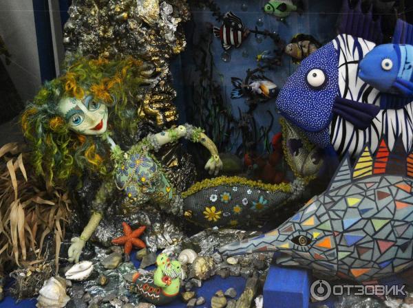 русалка и подводные жители