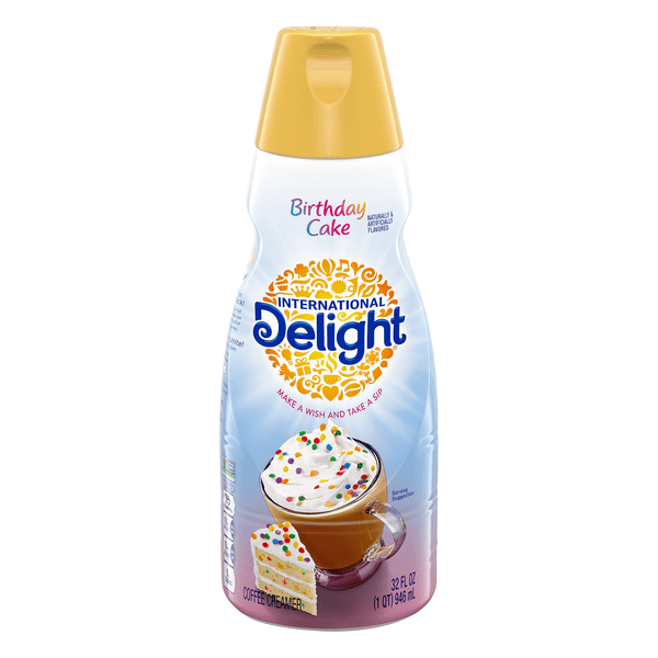 Save On International Delight Coffee Creamer Birthday Cake Refrigerated Order Online Delivery Martin S