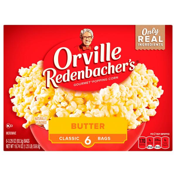 orville redenbacher s gourmet popping corn butter classic bag