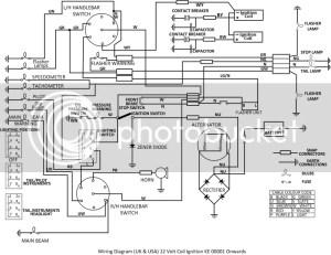 Daytona Wiring Diagram  Triumph Forum: Triumph Rat