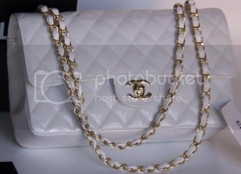 Classic white Chanel