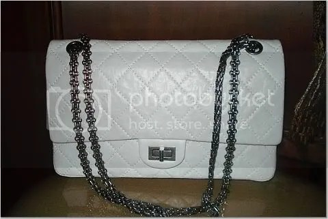 Reissue White patent Chanel