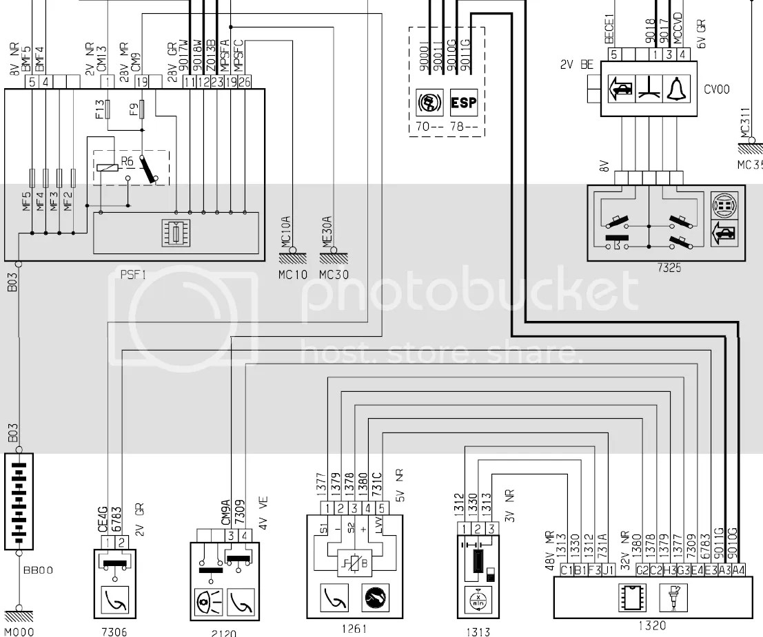 Citroen C3 Electrical Wiring Diagram  C3 Transmission Diagram  C3 Distributor Diagram  C3