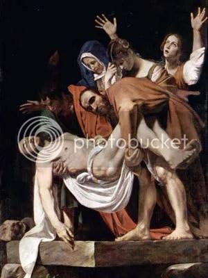 "Caravaggio's ""Entombment of Christ"""