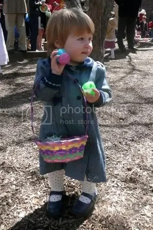 Phoebe on Easter
