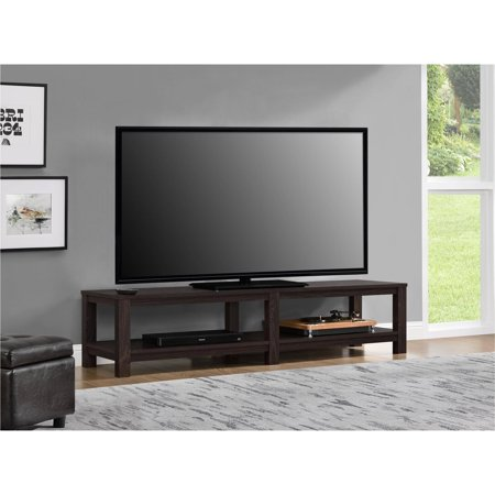 mainstays parsons tv stand for tvs up to 65 multiple colors walmart com