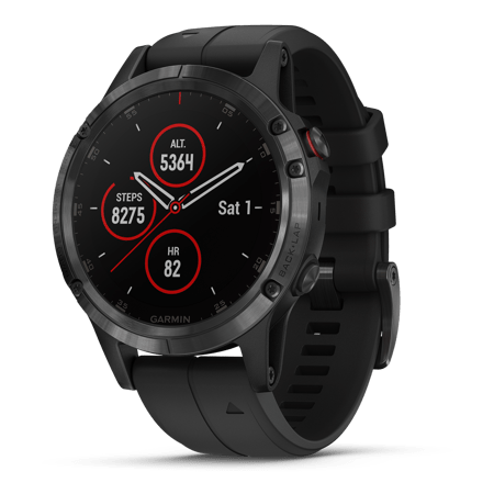 Garmin Fenix 5 Plus Sapphire Premium Multisport Watch with Music, Maps, and Garmin Pay