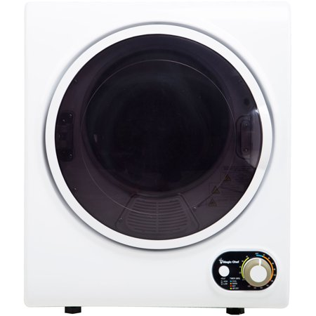 Magic Chef 1.5 Cu. Ft. Compact Electric Dryer in White