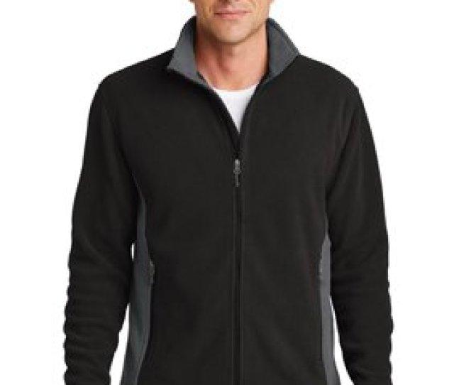 Product Image Port Authority Mens Colorblock Value Fleece Jacket